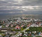 Seeing Iceland's capital from above is the only real way to appreciate the city's small size.