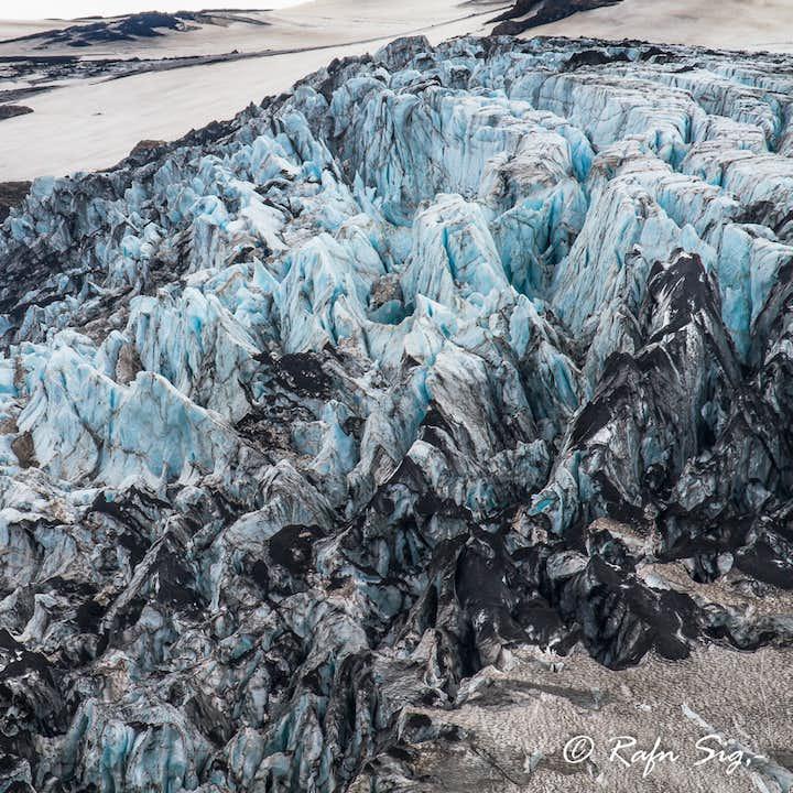 冰岛火山冰川直升机旅行团|雷克雅未克城市景观