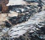La seule façon d'obtenir une véritable appréciation de la taille des glaciers islandais est de les survoler.