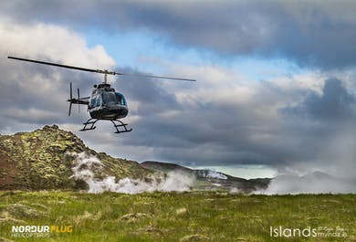 Geothermische Helikopter-Tour mit Landung