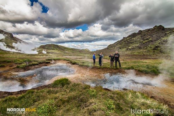 Geothermische Helikopter-Tour mit Landung