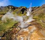 Islandzkie obszary geotermalne charakteryzują się bogactwem kolorów.