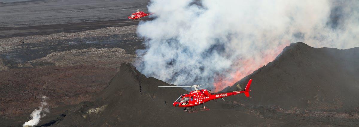 Norðurflug Helicopter Tours hero image