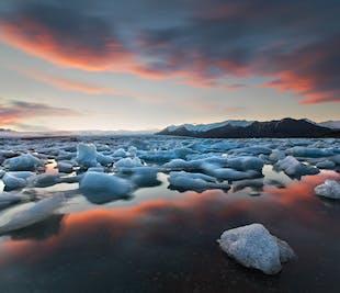 Glacial Lagoon & South Coast | Private 2 Day Tour: Glacier trips extra