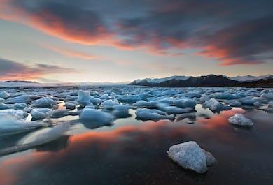 Glacial Lagoon & South Coast | Private 2 Day Tour: Glacier trips extra.