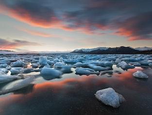 Glacial Lagoon: South Coast: Private tour 2 Days