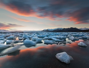 Glacial Lagoon: South Coast: Private tour 2 Days