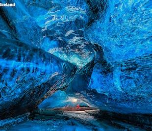 セルフドライブツアー3日間|氷の洞窟とヨークルスアゥルロゥン氷河湖