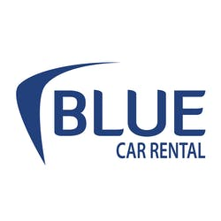 Blue Car Rental logo