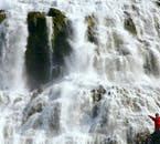 Dynjandi Waterfall is one of Iceland's most beautiful waterfalls, but luckily, it is located far from the crowds.