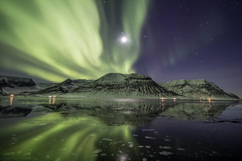 westfjords iceland northern lights - photo #1