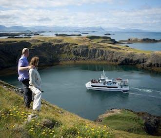 Au large de Breiðafjörður   Paysages, oiseaux et dégustation de fruits de mer