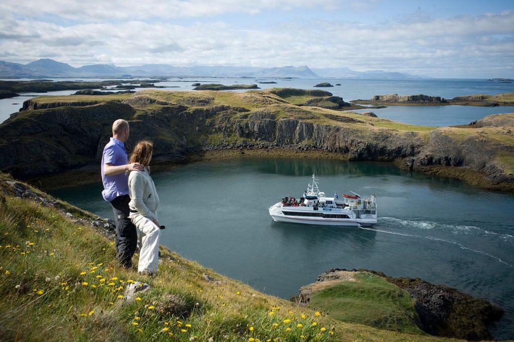 Selon la légende, les îles du fjord de Breiðafjörður sont innombrables.