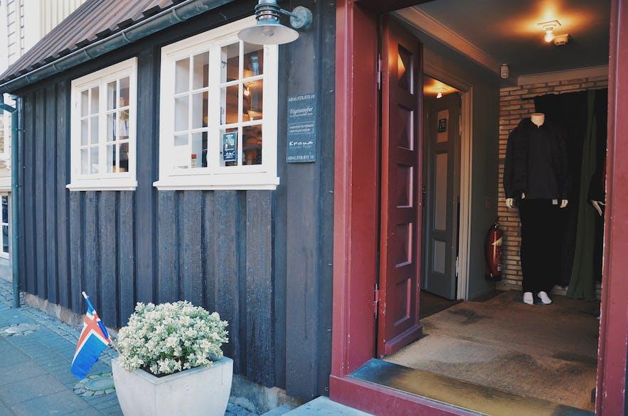 冰岛设计品店Kraum曾坐落于雷克雅未克最古老的房子里,如今可惜已经关门