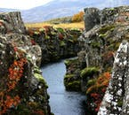 Þingvellir National Park is used to represent the lands surrounding the Eyrie and the Mountains of the Moon.