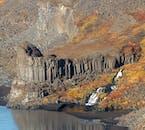 小さな滝が多くあるアイスランド北部