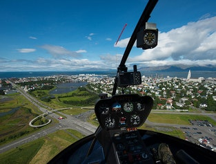 Reykjavík and Surroundings - Helicopter Trip