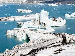 Glacier Lagoon Jökulsárlón - Helicopter Trip