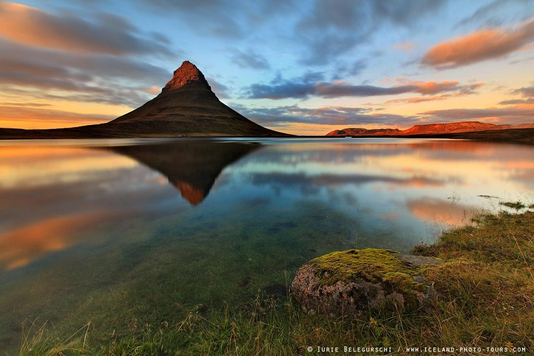 冰岛斯奈山半岛教会山