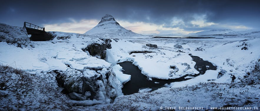 Iceland in wintertime