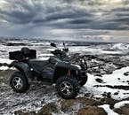 An ATV tour from Reykjavík provides an hour of excitement.