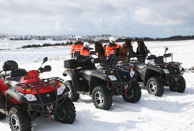 Easy 1 Hour ATV tour from Reykjavík
