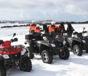 Tour en quad (ATV) de 1 hora desde Reikiavik | Nivel fácil