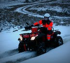 This ATV tour runs throughout the year, in summer sun and winter snow.