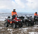 You don't need to go far from Reykjavík to get into the open nature where you can ride your ATV.