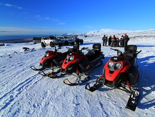 Snowmobile Tour from South Iceland
