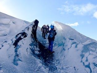 Glacier Hiking Tour up Solheimajokull Glacier | Easy Difficulty