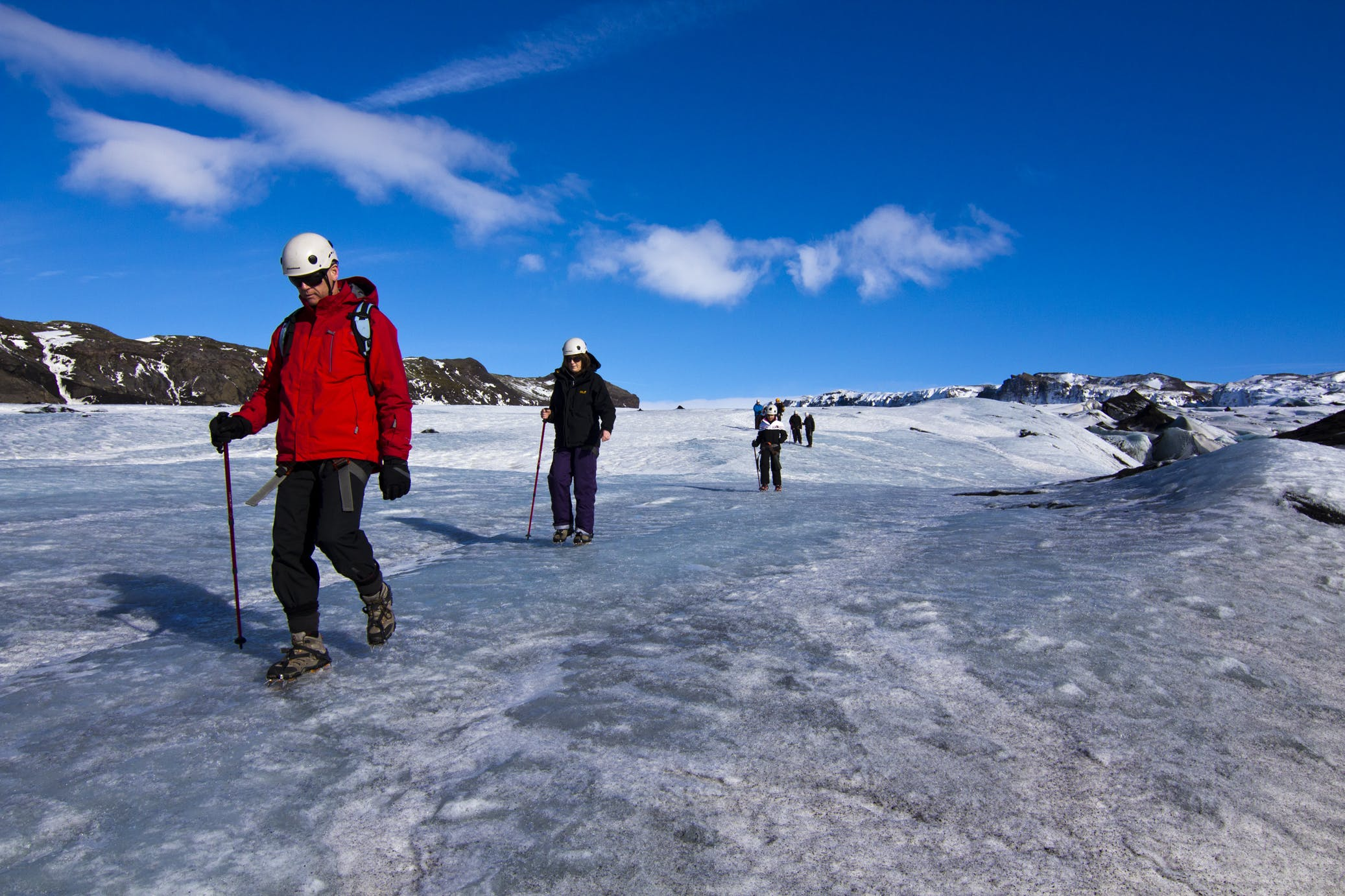 Glacier Hiking Tour up Solheimajokull Glacier | Easy Difficulty