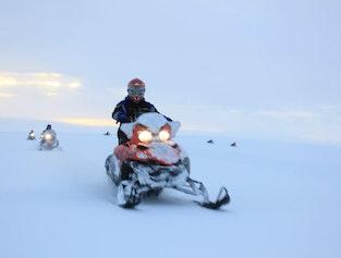 Golden Circle & Snowmobiling Trip