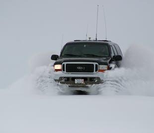 Círculo Dorado en Super Jeep | Conduciendo por el Glaciar de Langjökull