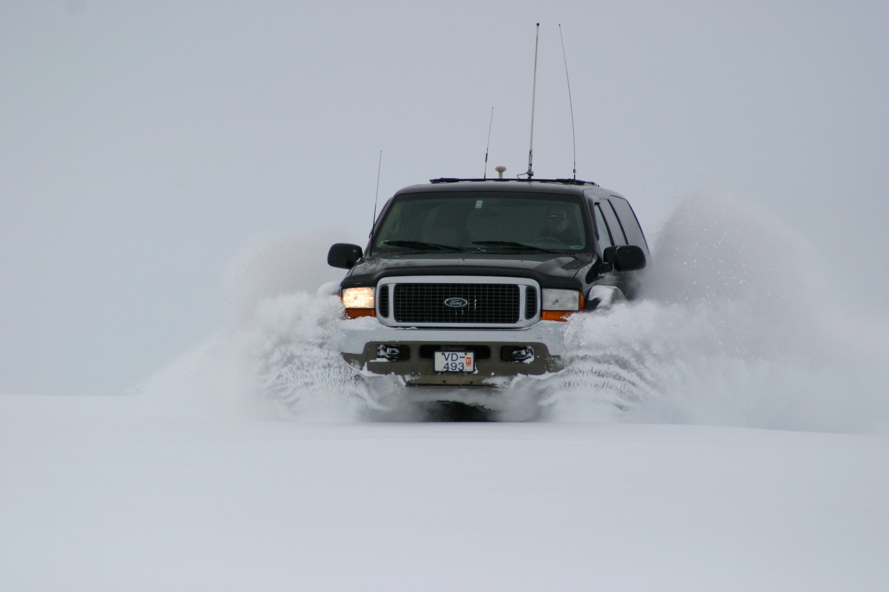 Golden Circle in a Super Jeep | With optional snowmobiling