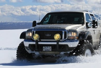Iceland in Your Own Way | 9 Hours Guided Super Jeep Trip