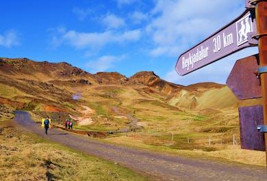 Hot Spring Hike of Reykjadalur Valley