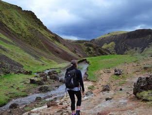 Hot Spring Hike | Including Pickup from Reykjavik