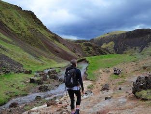 Wędrówka do gorących źródeł - transfer z Reykjaviku