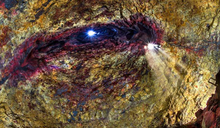 6-godzinna wycieczka do wnętrza wulkanu, w komorze magmowej Thrihnukagigur z transferem z Reykjaviku