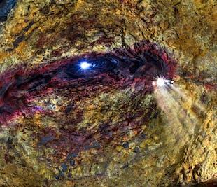 Zjazd do wulkanu Thrihnukagigur | Zobacz komorę magmową