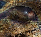 La chambre magmatique Thríhnúkagígur est un lieu unique en Islande