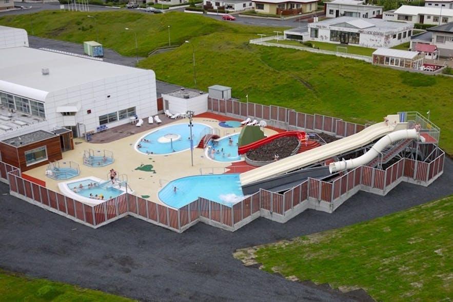 冰岛韦斯特曼岛温泉泳池(又名西人岛)
