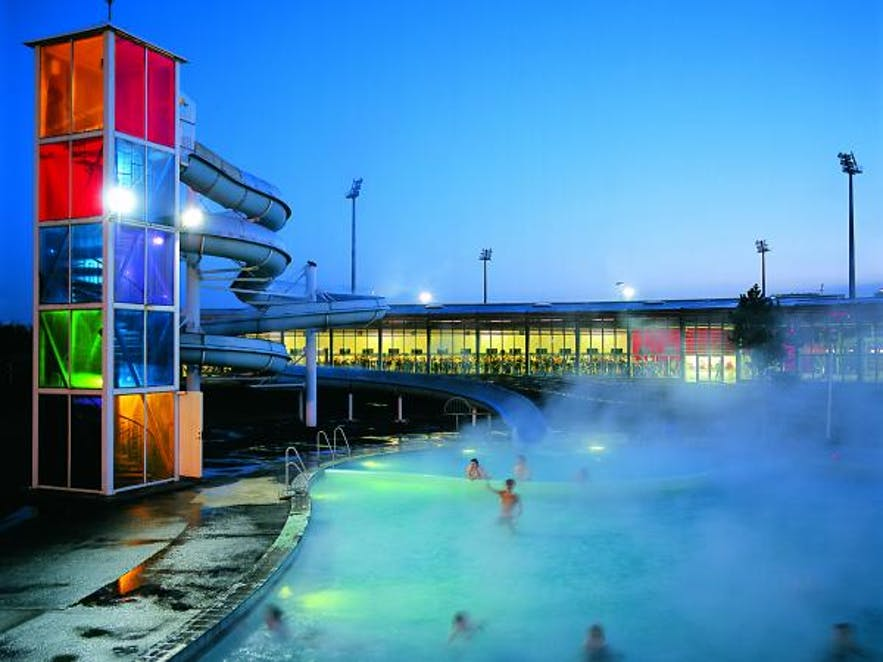 Laugardalslaug pool - picture from Visit Iceland