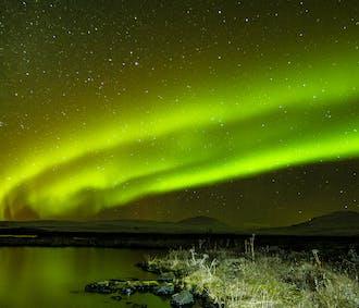 Excursión privada de auroras boreales   Desde Reikiavik