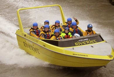 Golden Circle and Jet Boat Ride | Sightseeing and Adventure on the Hvita River