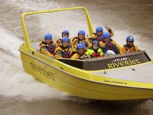 Golden Circle & Jet Boat Ride | Sightseeing Adventure on Hvita River