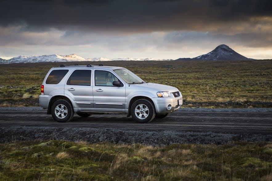 在冰岛租四驱车自驾