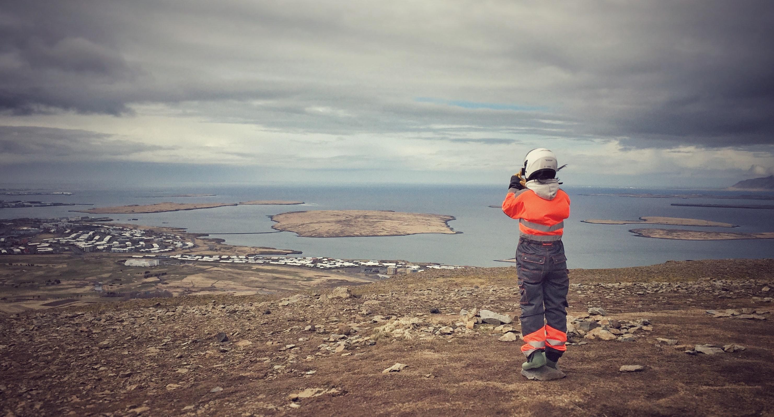 冰岛雷克雅未克远景