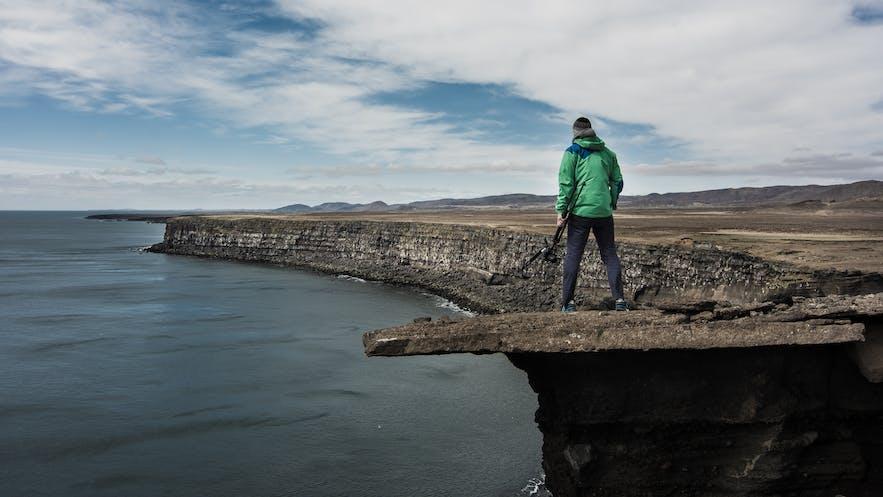 Reykjanes Peninsula in Iceland